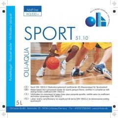 OLI-AQUA Sport 2K Parkettsiegel 51.10 5L